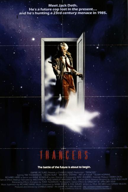 Trancers (1985) poster