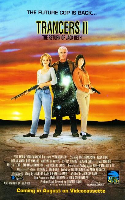 Trancers II (1991) poster