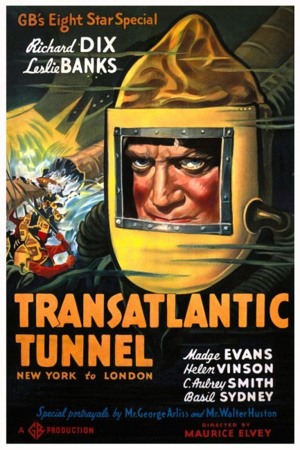 Trans-Atlantic Tunnel (1935) poster