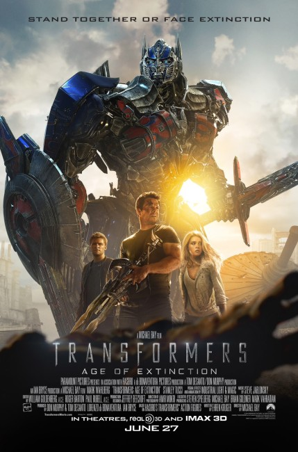 Transformers: Age of Extinction (2014) poster