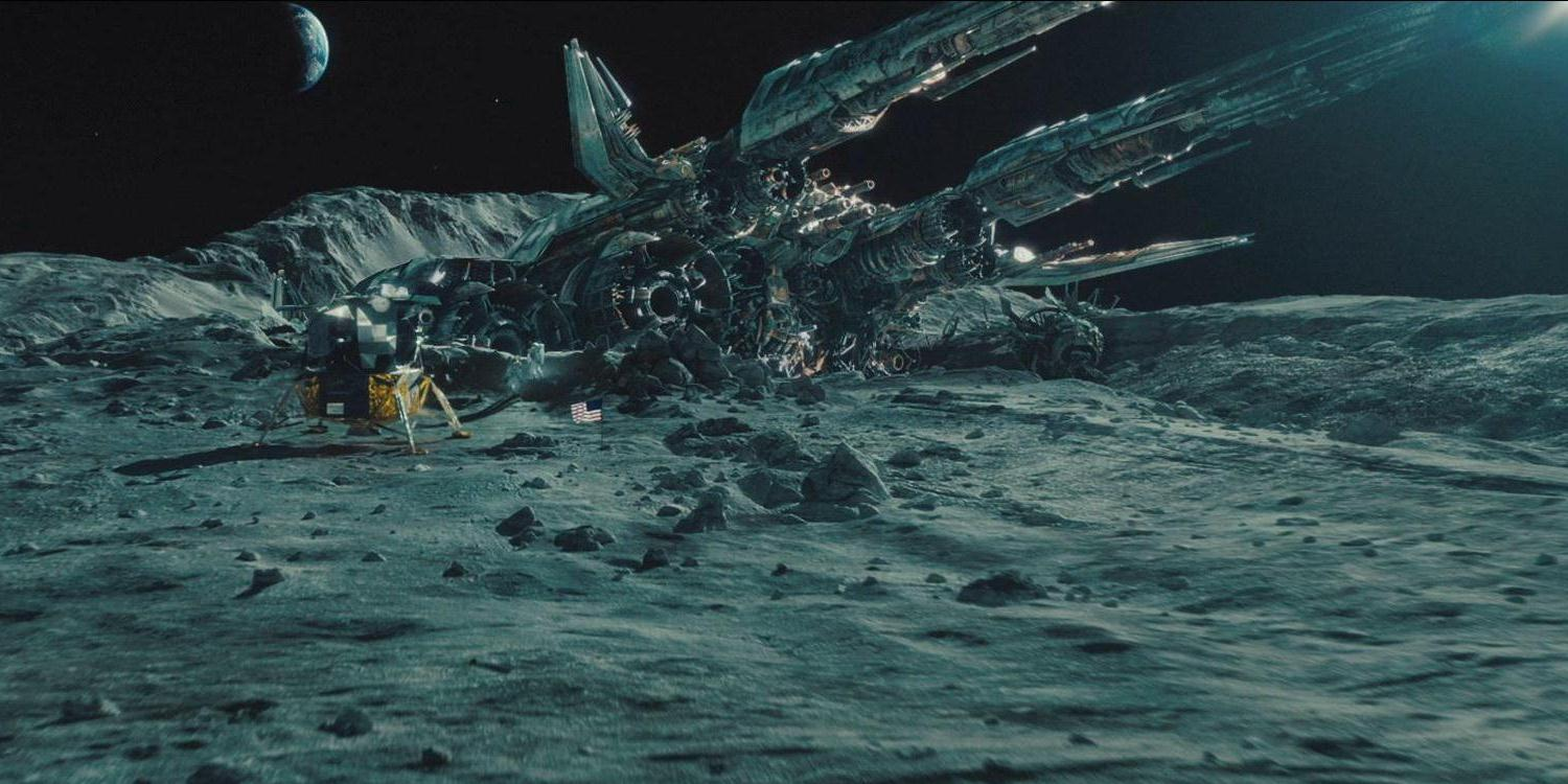 The crash site of The Ark in Transformers: Dark of the Moon (2011)