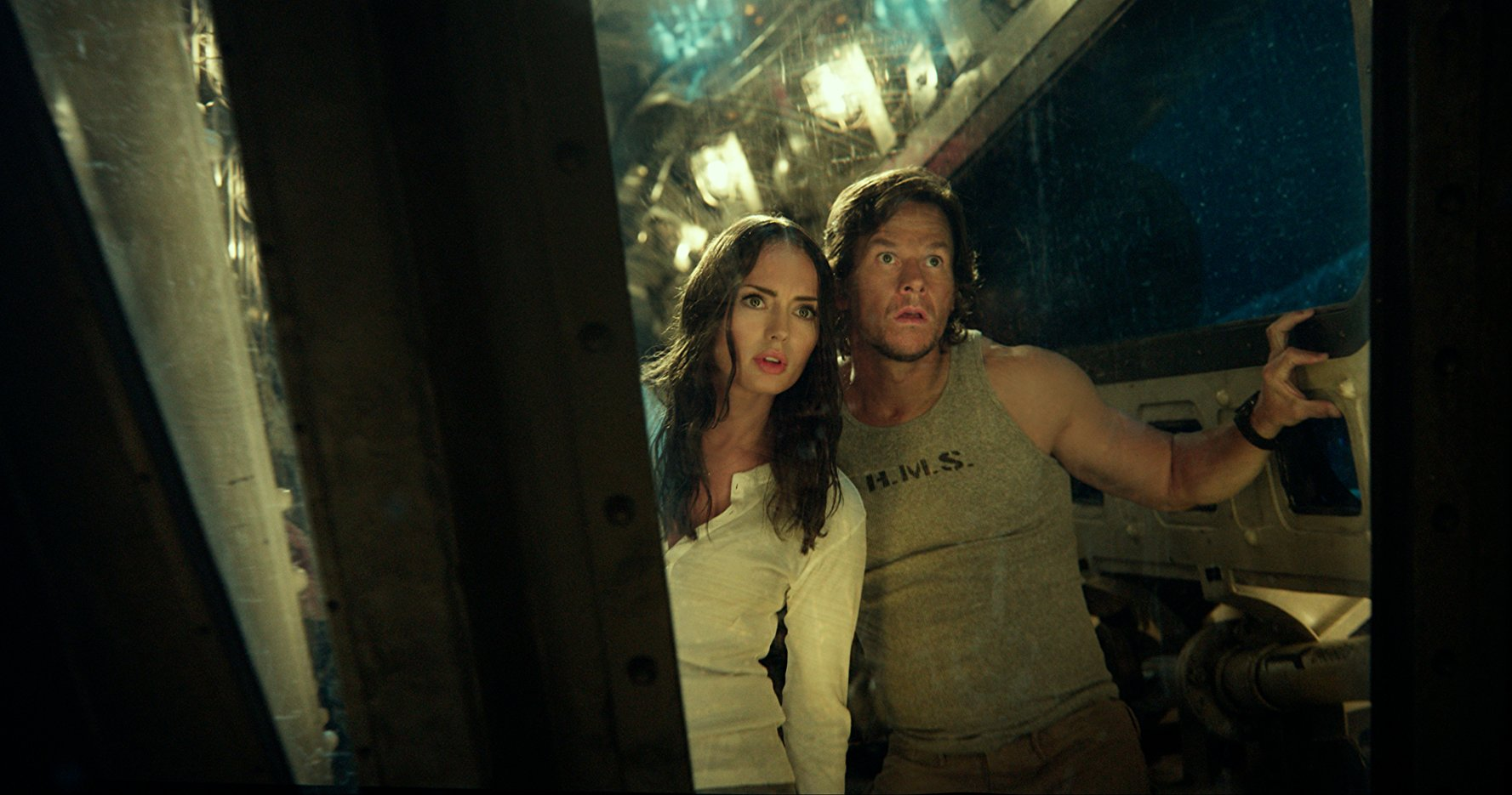 Mark Wahlberg, Lara Pulver in Transformers: The Last Knight (2017)