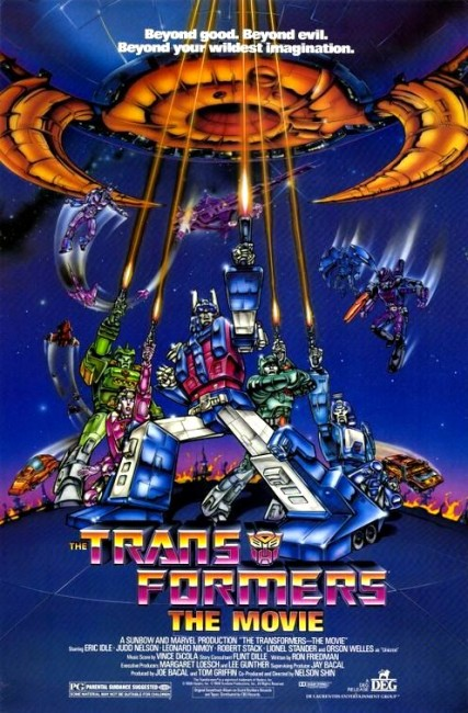 The Transformers: The Movie (1986) poster