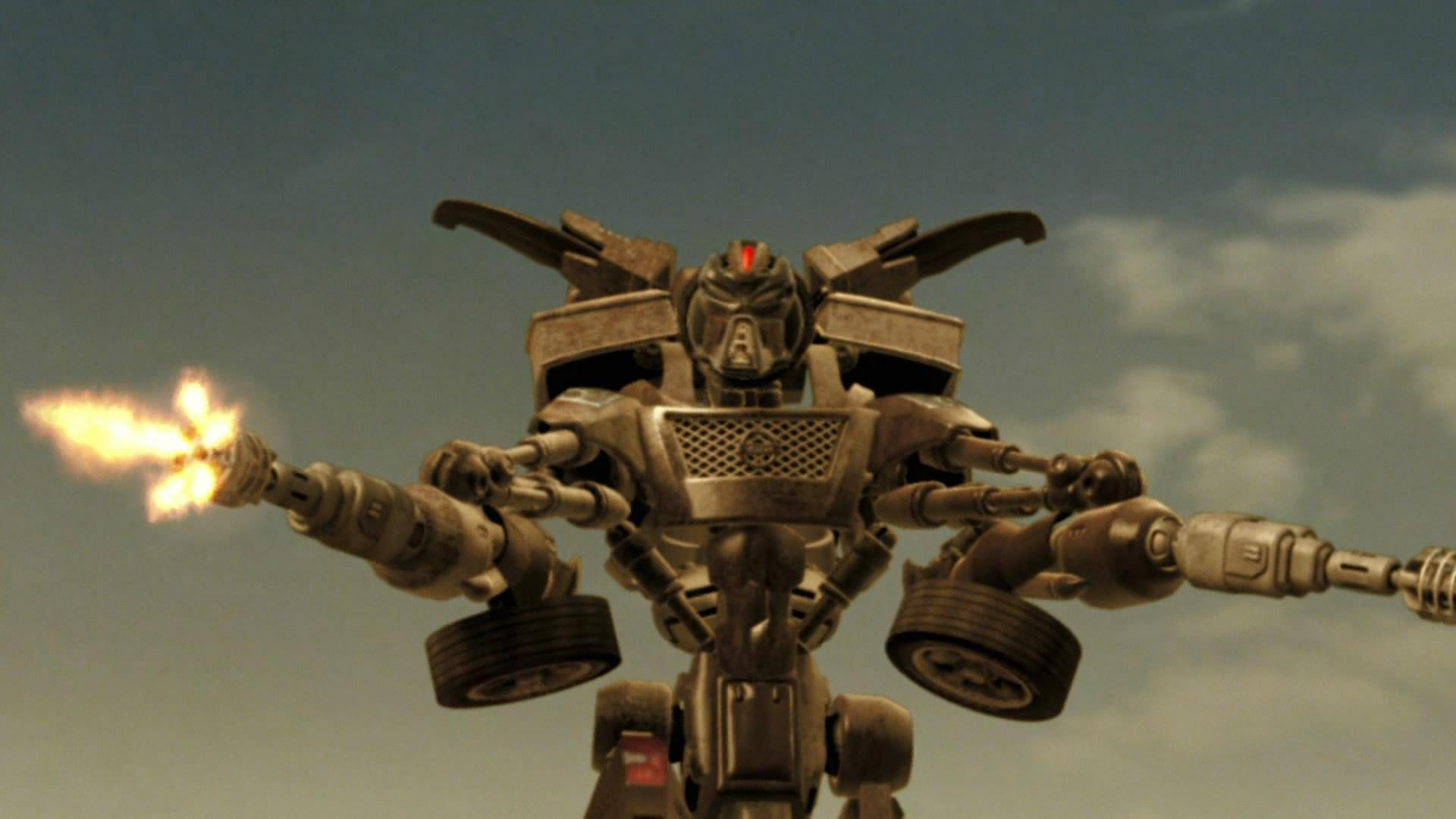 A Z-Bot in Transmorphers (2007)