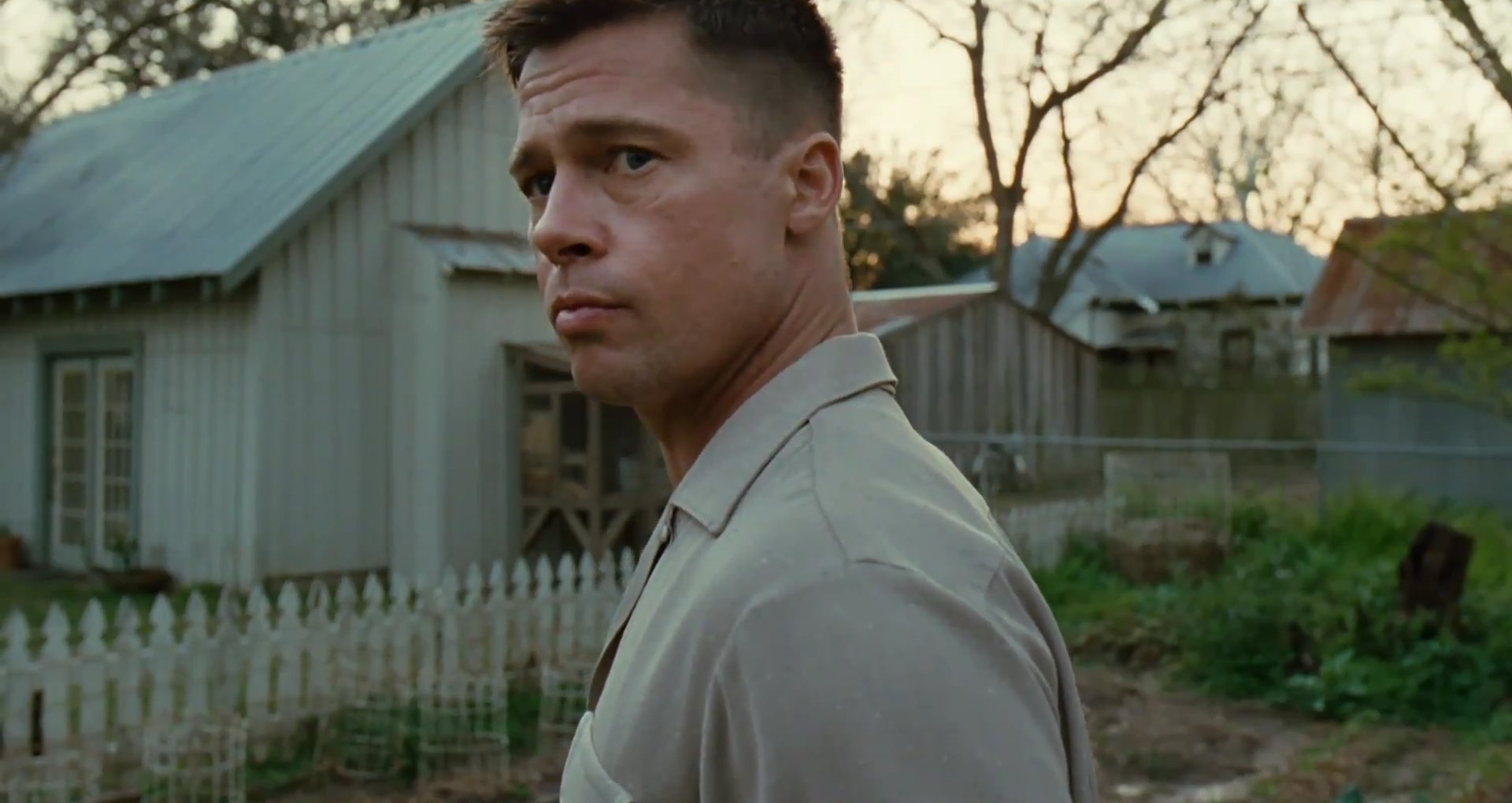 Brad Pitt as the father in The Tree of Life (2011)
