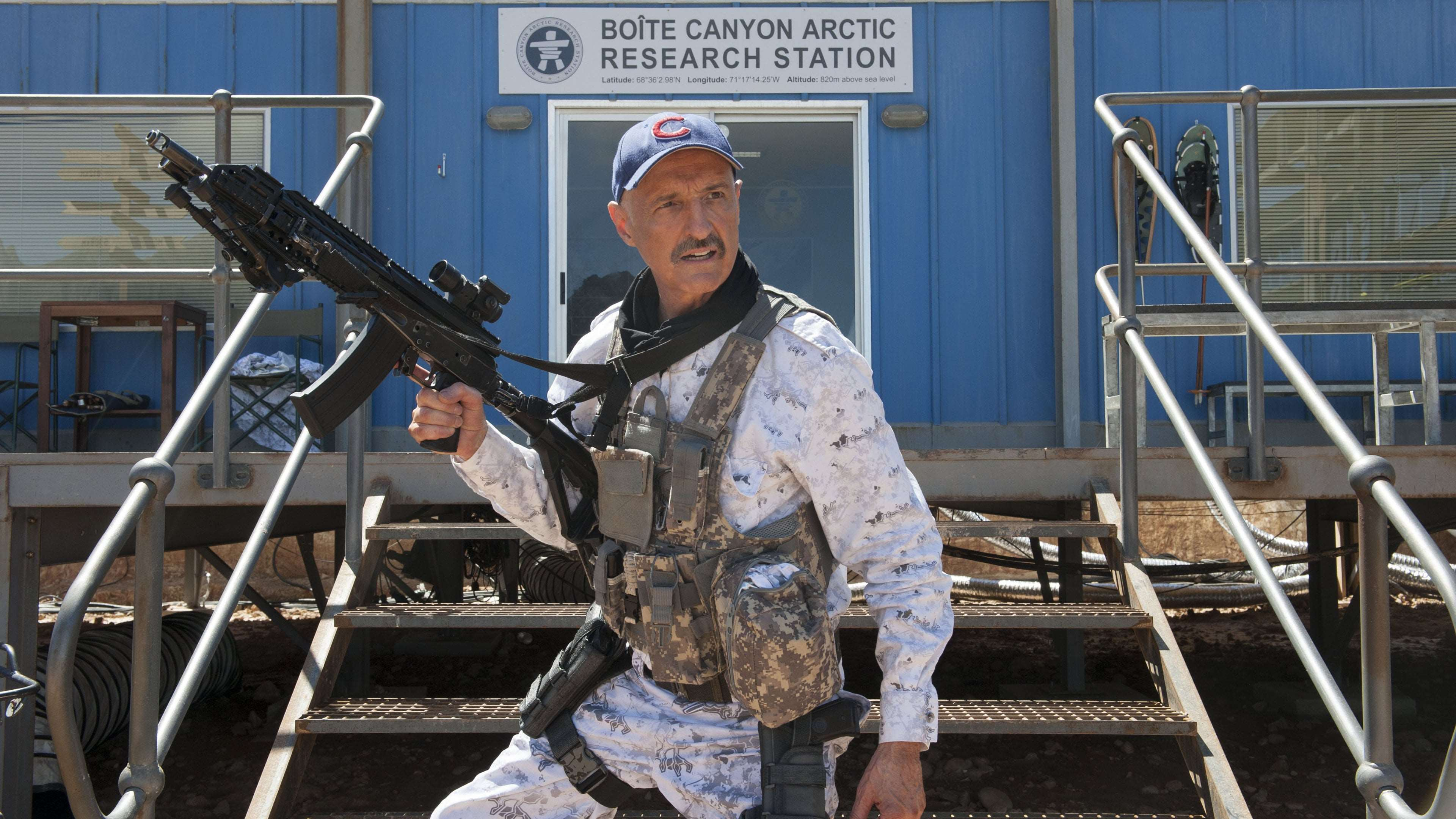 Michael Gross in Tremors: A Cold in Hell (2018)
