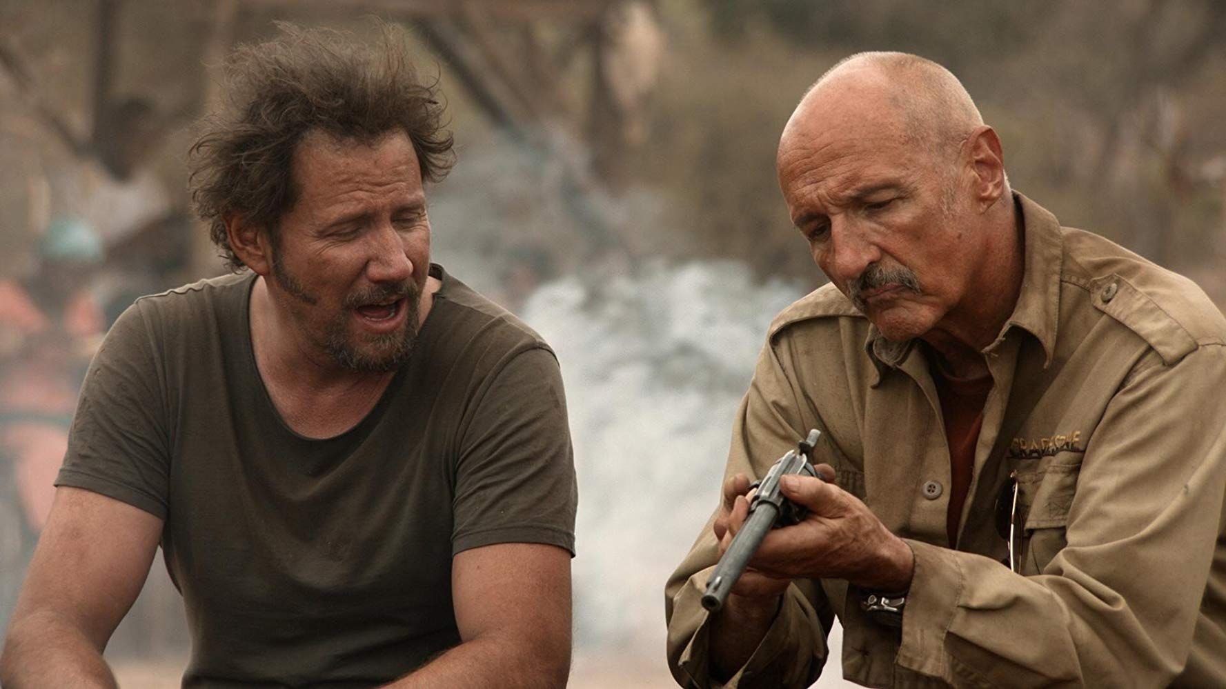 Michael Gross, Jamie Kennedy in Tremors 5. Bloodlines (2015)