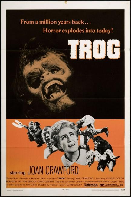Trog (1970) poster