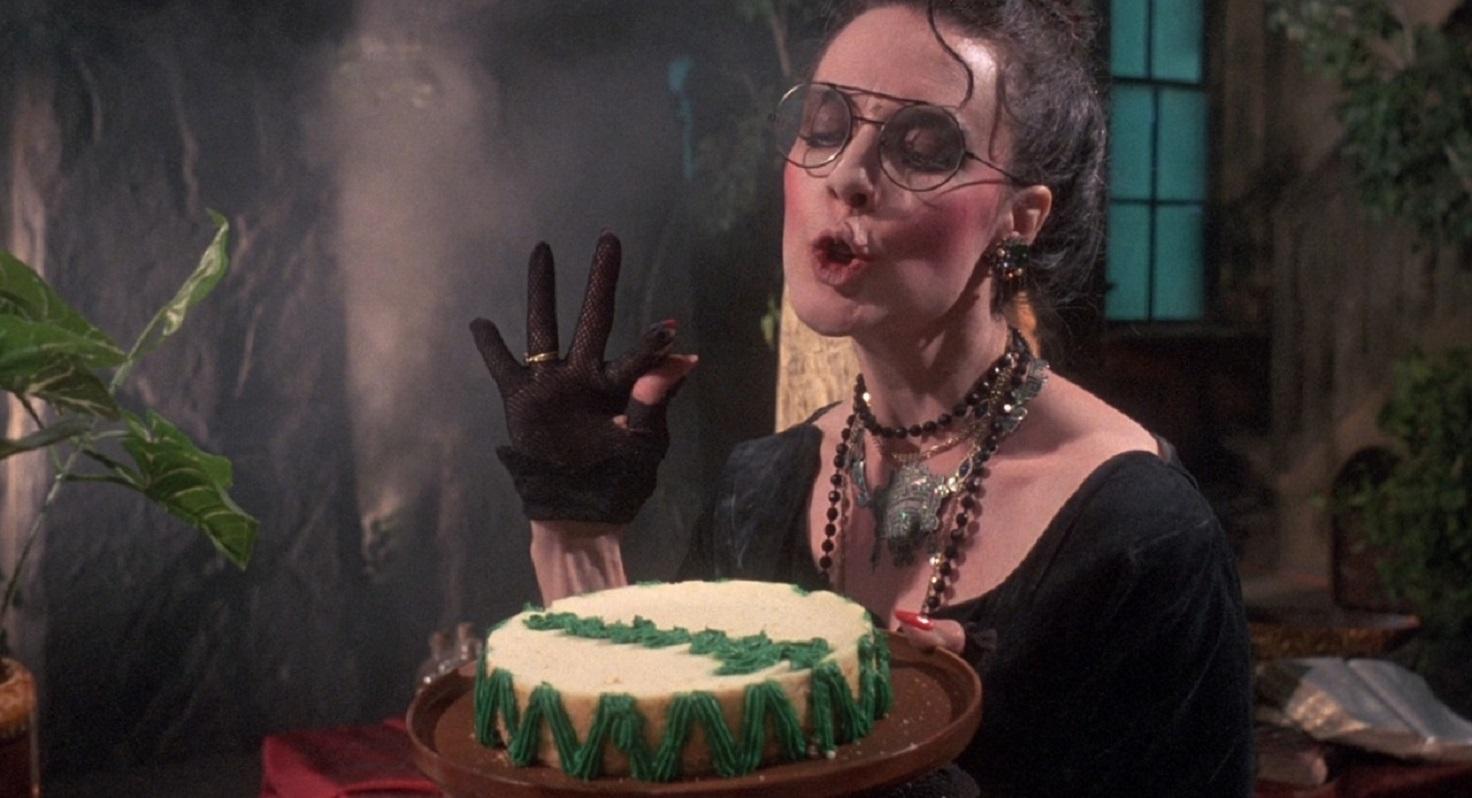 Deborah Reed as Creedence in Troll 2 (1990)