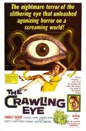 The Trollenberg Terror/The Crawling Eye (1958) poster