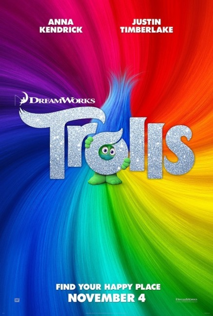 Trolls (2016) poster