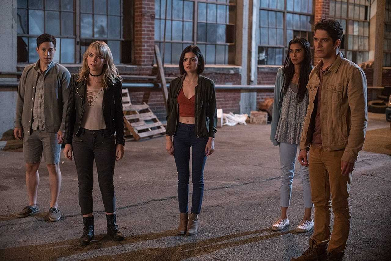 Hayden Szeto, Violett Beane, Lucy Hale, Sophia Ali and Tyler Posey in Truth or Dare (2018)