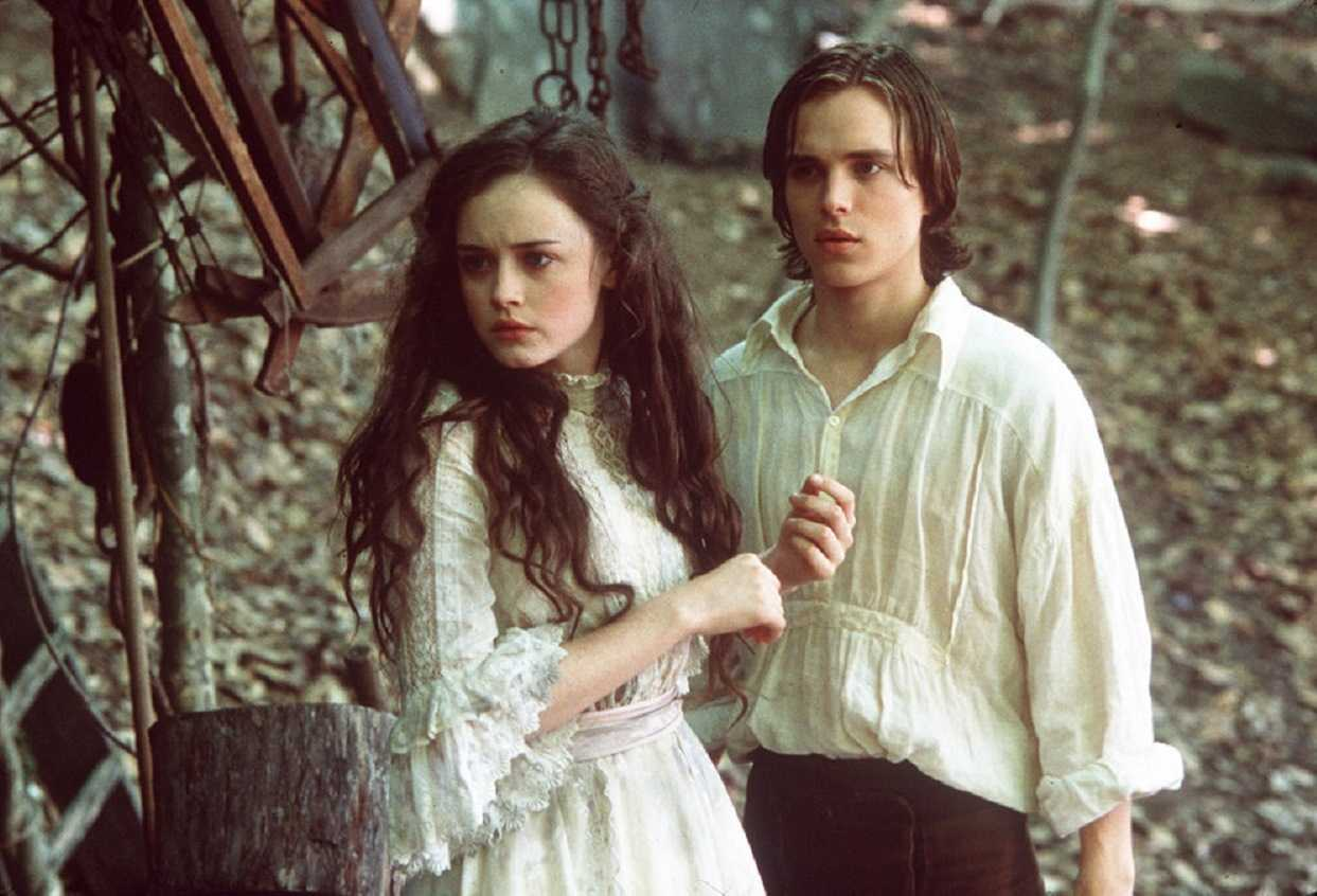 Winnie Foster (Alexis Bledel) and Jesse Tuck (Jonathan) in Tuck Everlasting (2002)