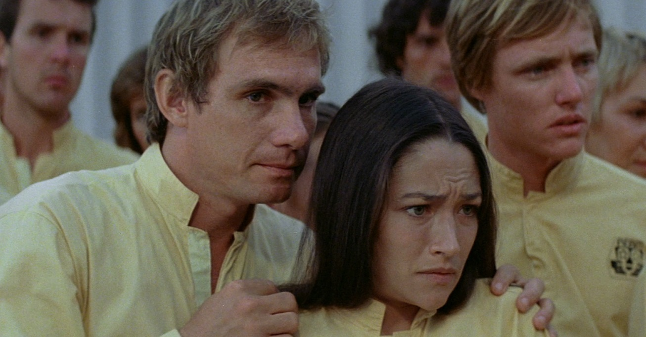 Steve Railsback, Olivia Hussey in Turkey Shoot (1983)