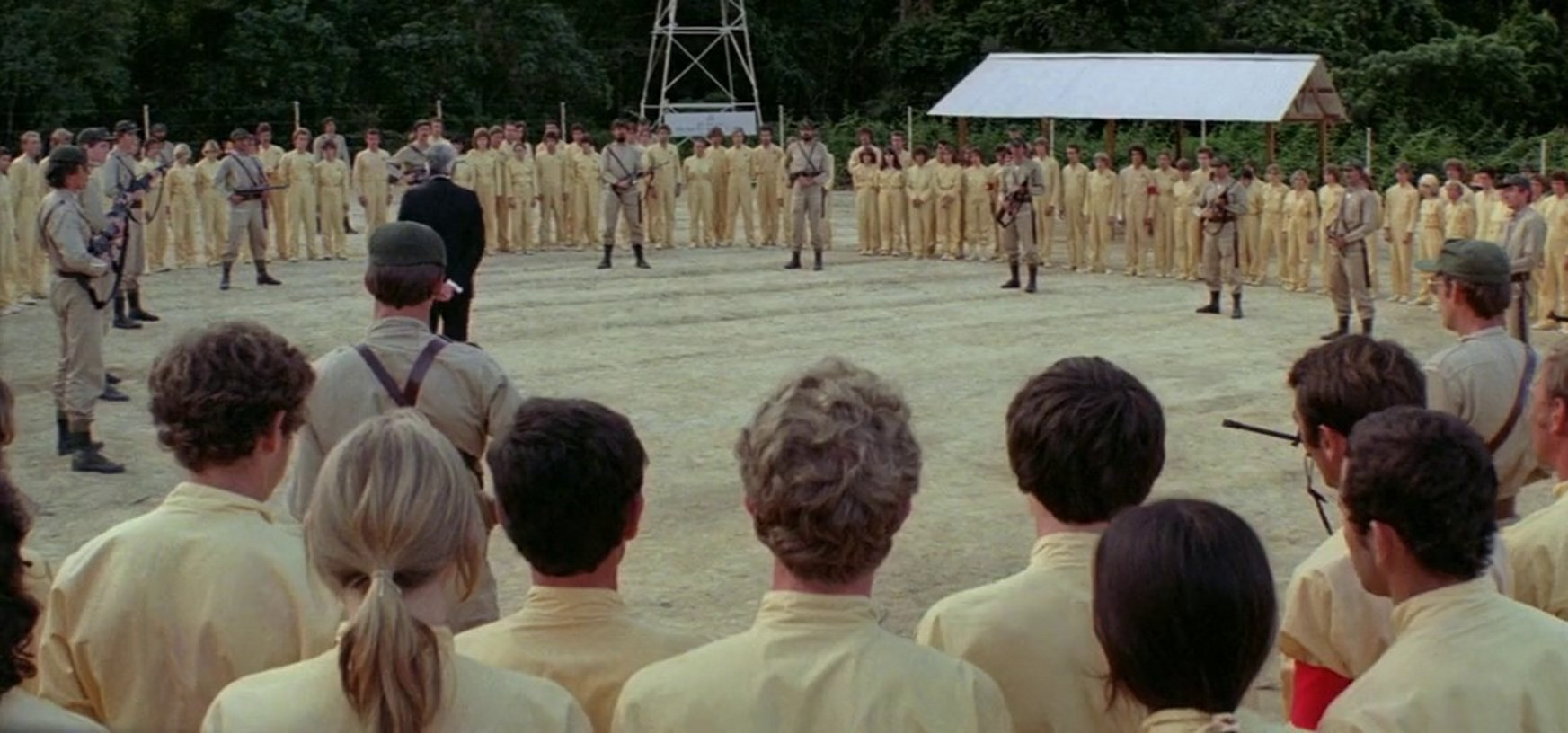 The prison camp in Turkey Shoot (1983)