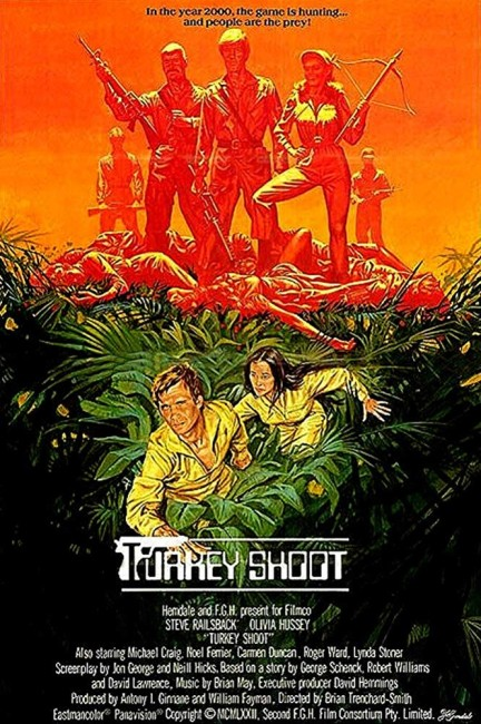 Turkey Shoot (1983) poster
