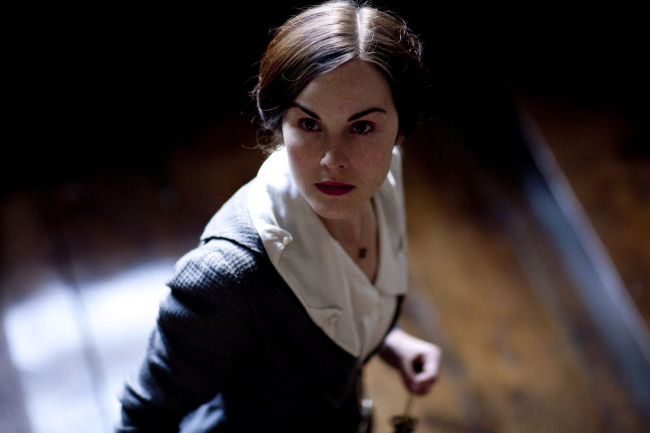 Michelle Dockery as the governess Ann in The Turn of the Screw (2009)