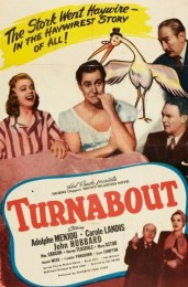 Turnabout (1940) poster
