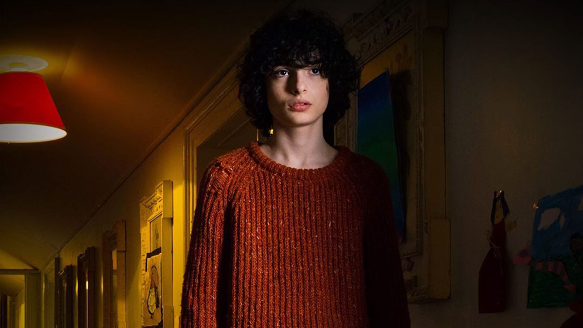 Finn Wolfhard as Miles in The Turning (2020)