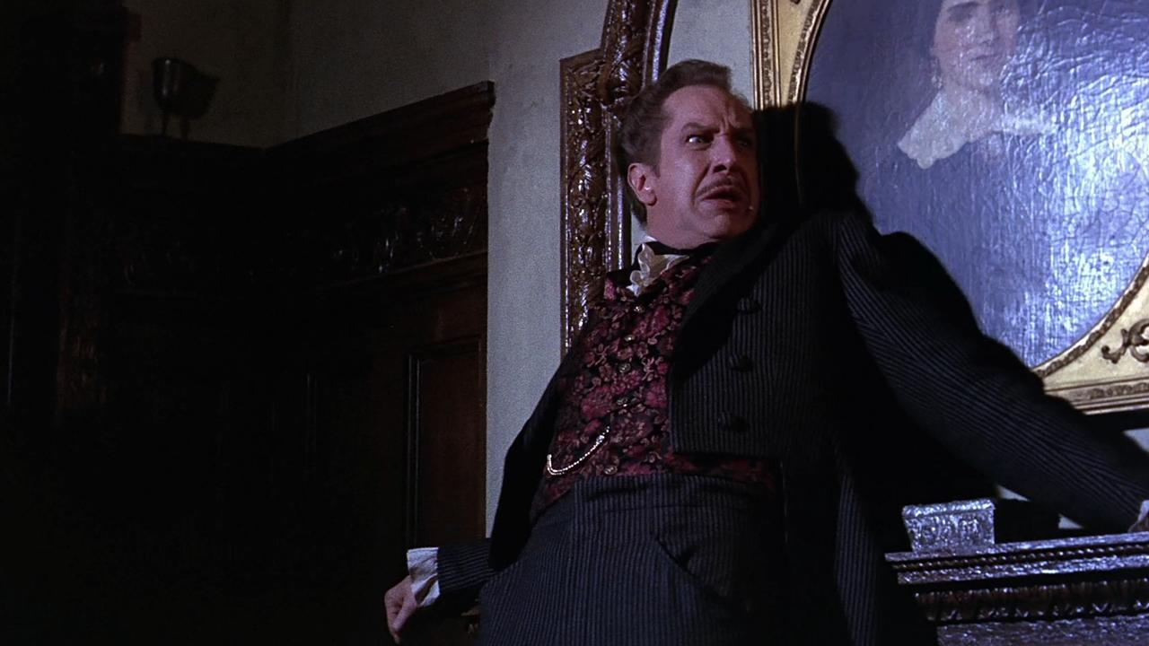 A haunted Vincent Price in the The House of the Seven Gables episode of Twice-Told Tales (1963)