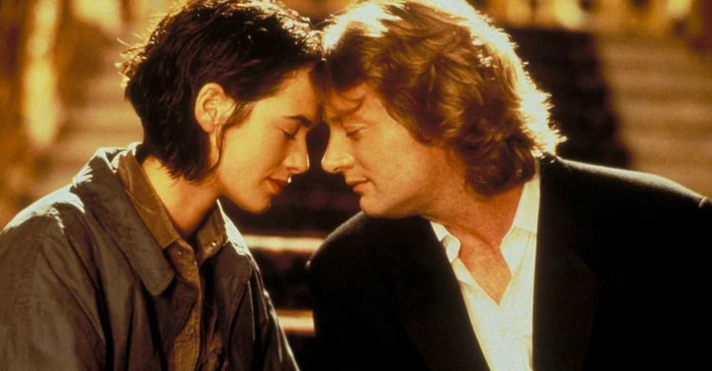 Couple Lena Headey and Douglas Henshall in Twice Upon a Yesterday (1998)