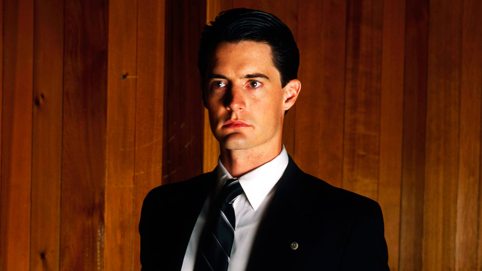 FBI agent Dale Cooper (Kyle MacLachlan) in Twin Peaks (1990)