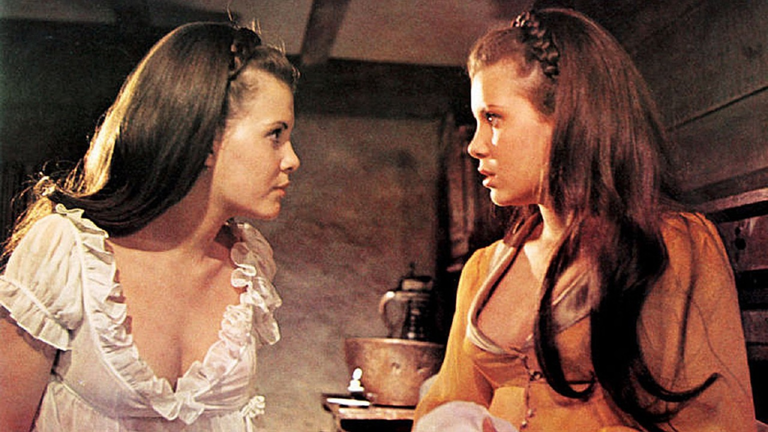 Madeline and Mary Collinson in Twins of Evil (1971)