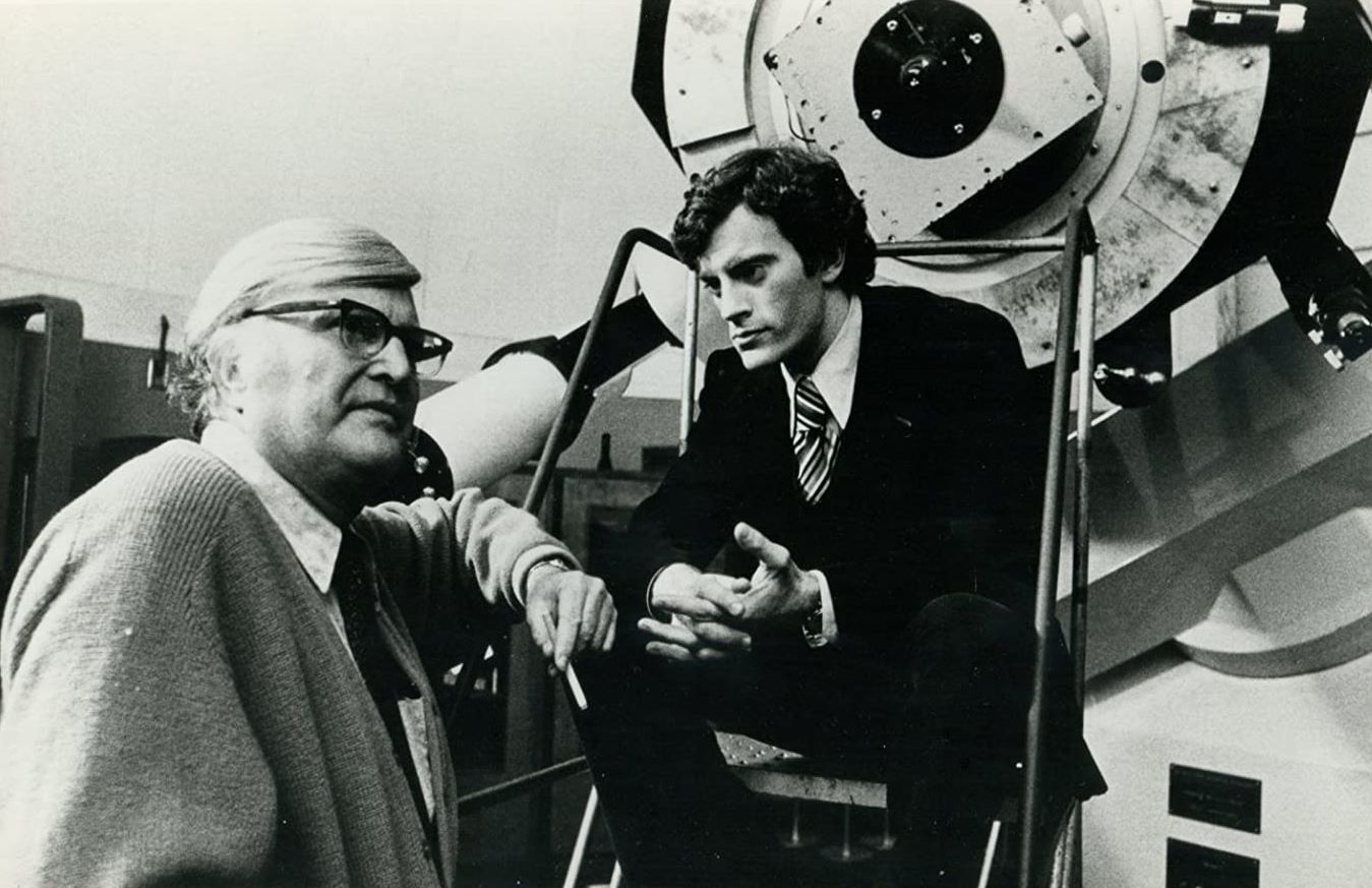 Nick Plakias and Ed Lynch in UFO: Target Earth (1974)