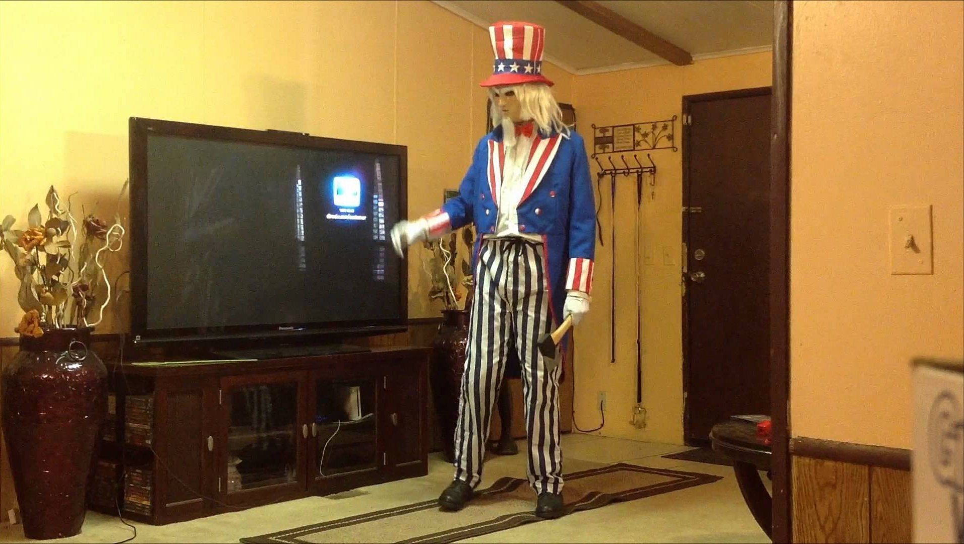 David 'Shark' Fralick as the undead war veteran in Uncle Sam (1997)
