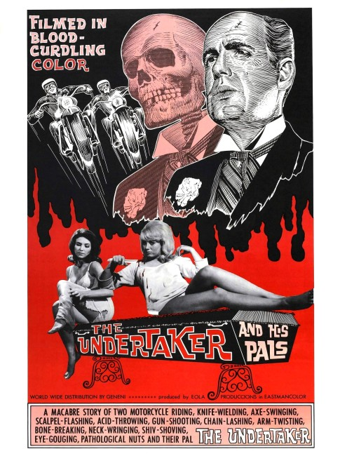 The Undertaker and His Pals (1966) poster