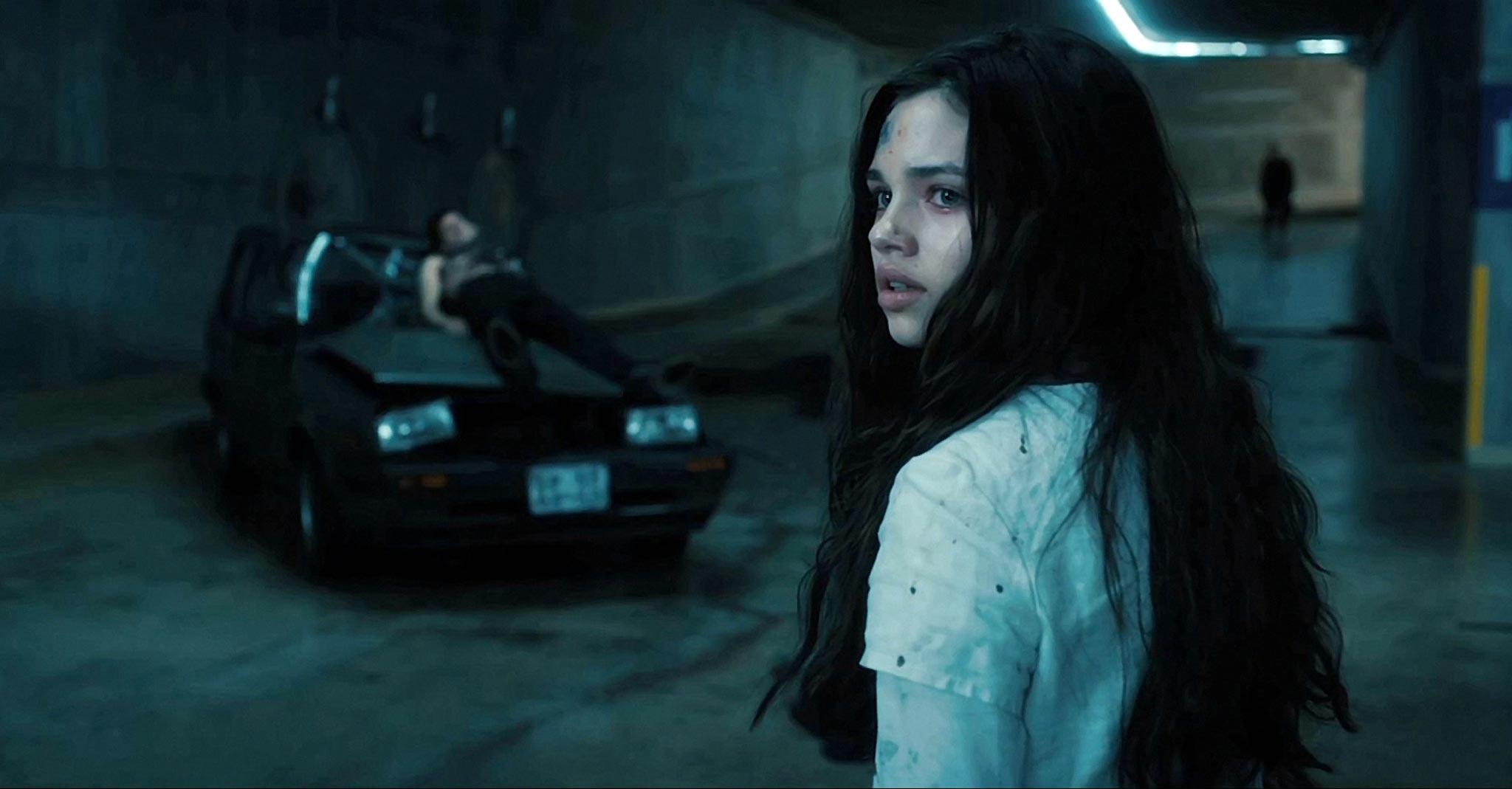 India Eisley as Selene's daughter Eve in Underworld Awakening (2012)