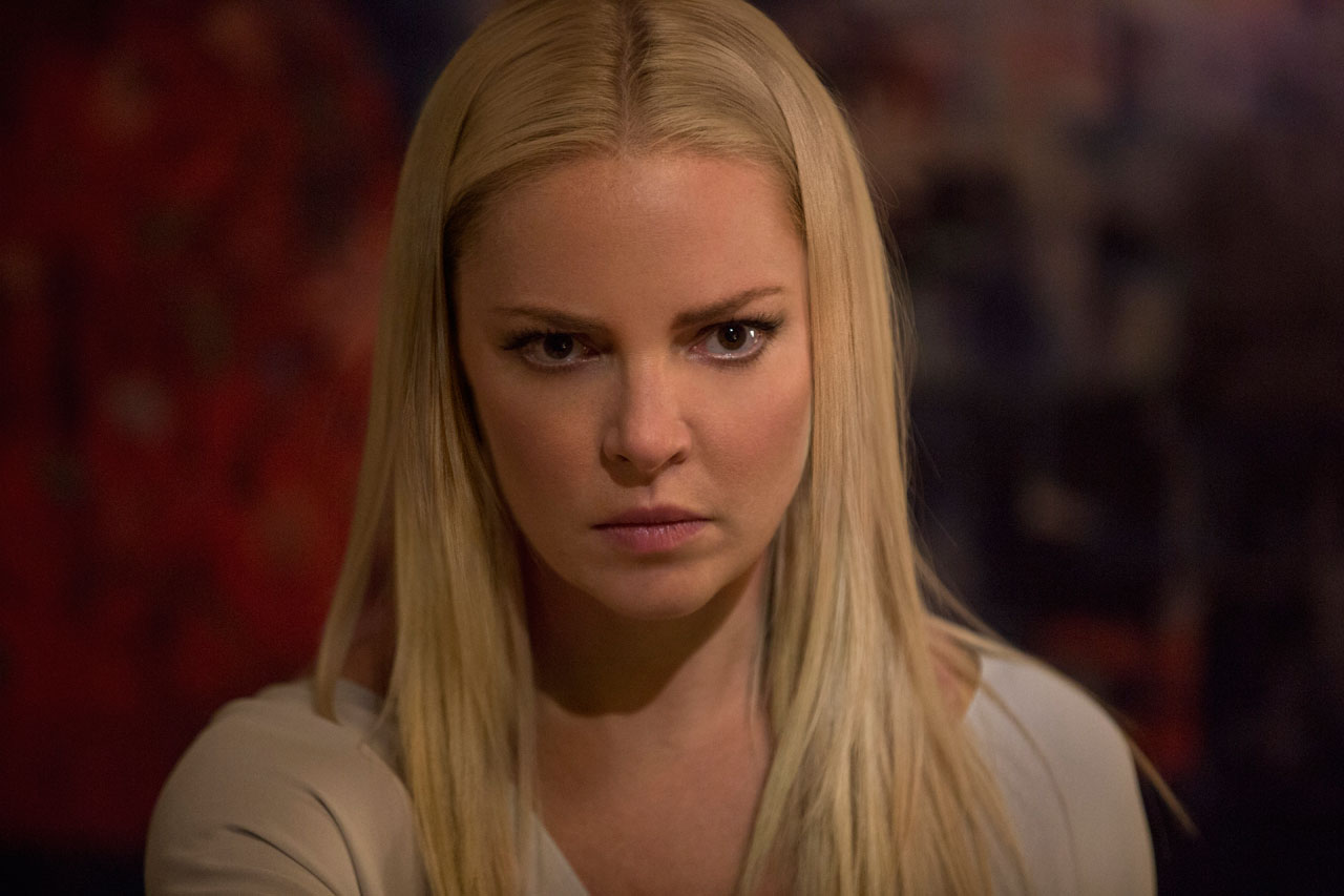 Katherine Heigl as psycho ex Tessa in Unforgettable (2017)