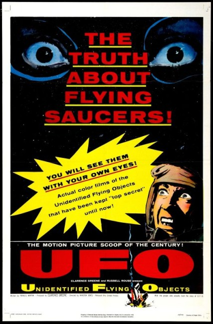 Unidentified Flying Objects: The True Story of Flying Saucers (1956) poster