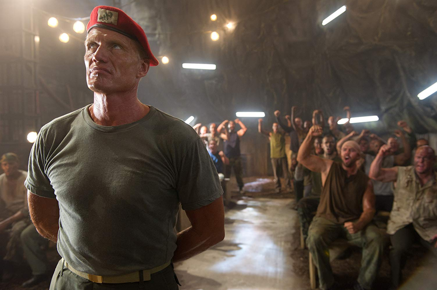 Dolph Lundgren back again as Andrew Scott in Universal Soldier: Day of Reckoning (2012)