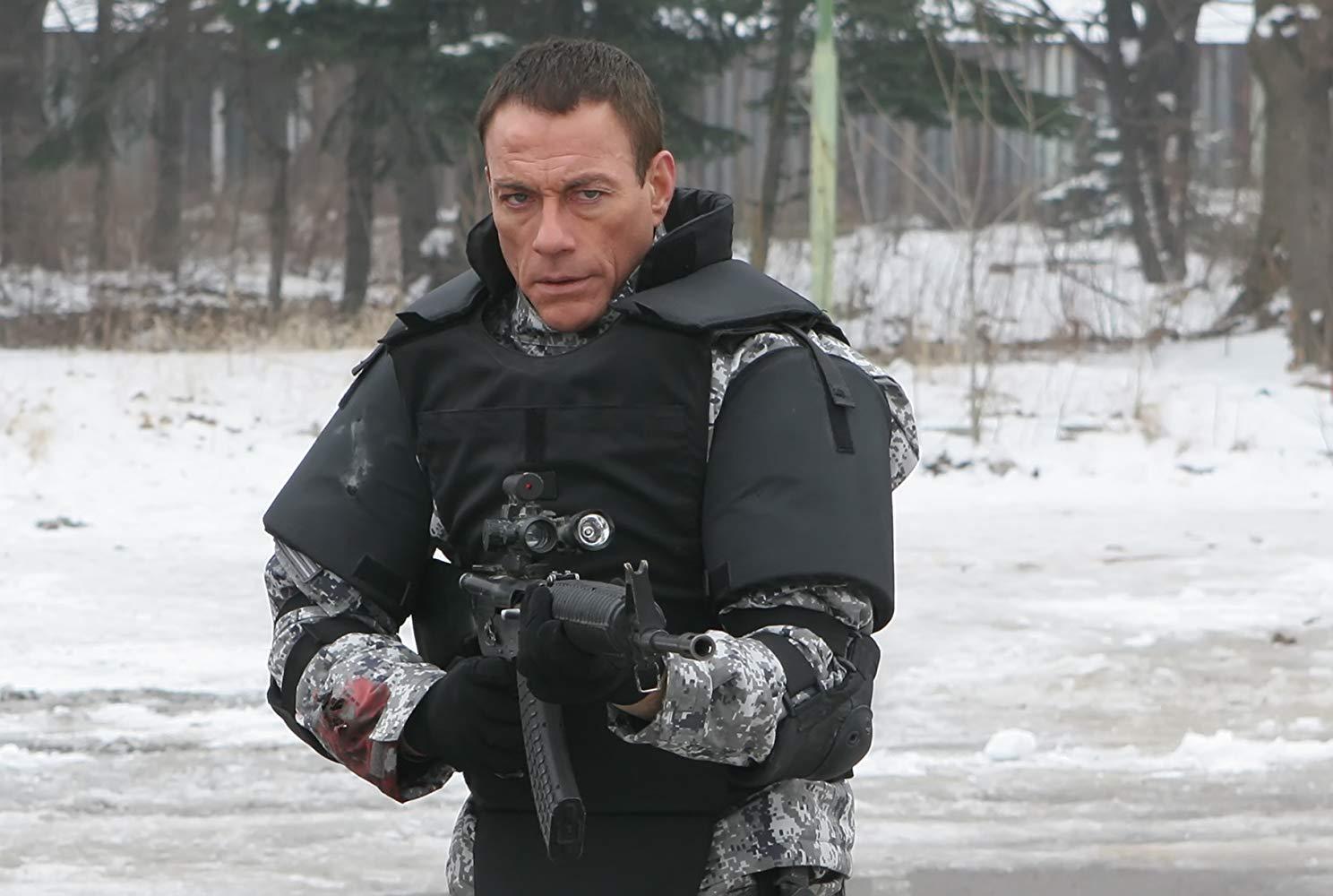Luc Devereaux (Jean-Claude Van Damme) in Universal Soldier: Regeneration (2009)