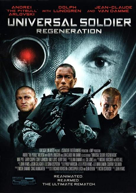 Universal Soldier: Regeneration (2009) poster
