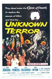 The Unknown Terror (1957) poster