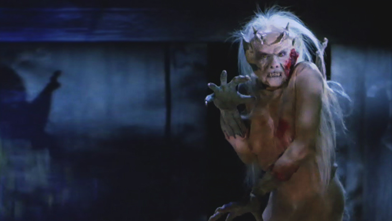 The thing in the attic from The Unnamable (1988)