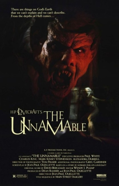 The Unnamable (1988) poster