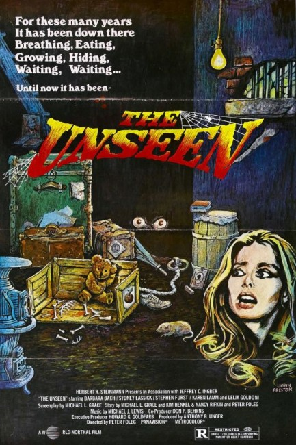 The Unseen (1981) poster