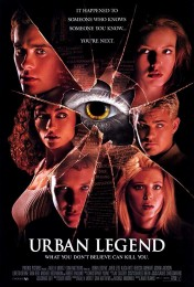 Urban Legend (1998) poster