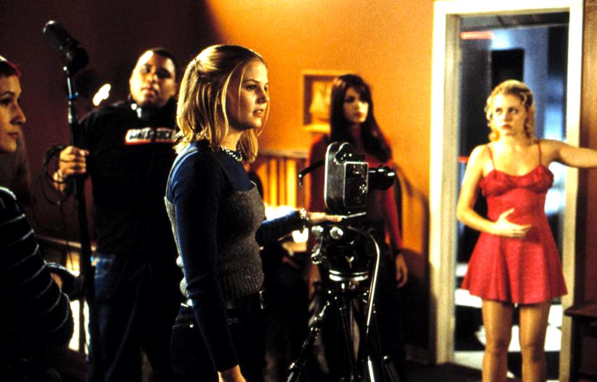 Anthony Anderson, Jennifer Morrison, Eva Mendes, Jessica Cauffiel in Urban Legends: Final Cut (2000)