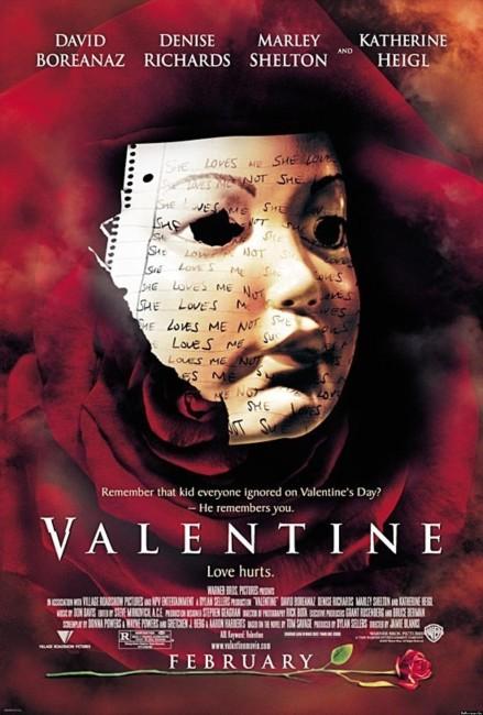 Valentine (2001) poster