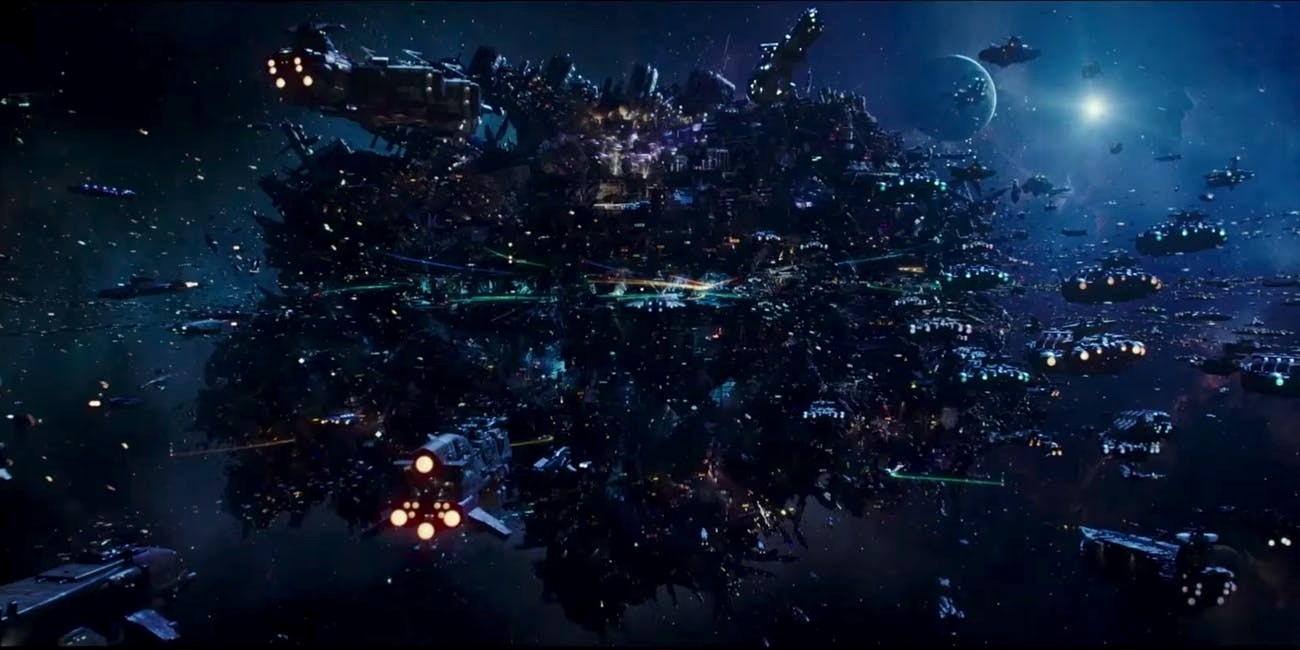 Alpha station in Valerian and the City of a Thousand Planets (2017)