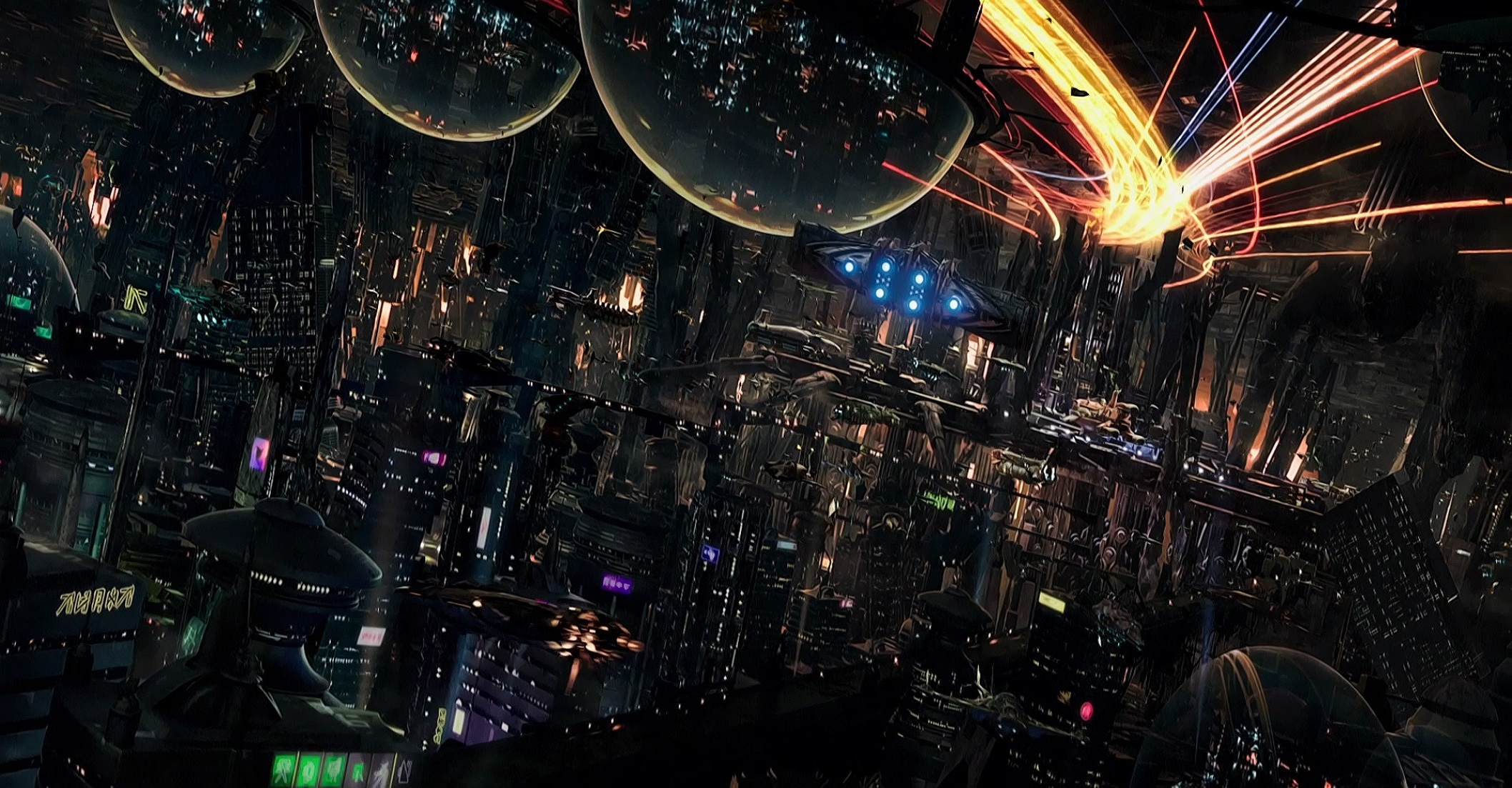 The interior of Alpha in Valerian and the City of a Thousand Planets (2017)