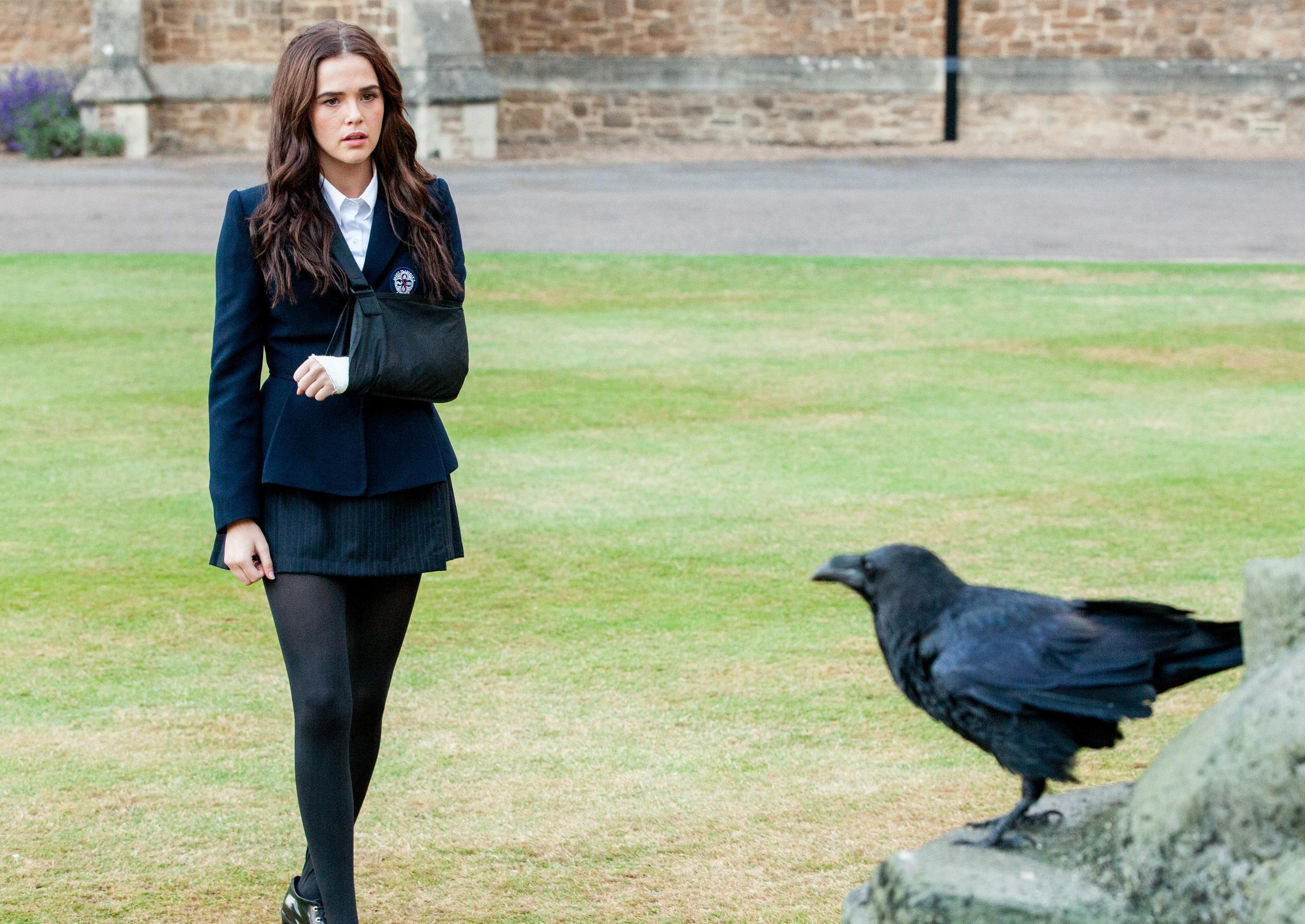 Zoey Deutch as Rose Hathaway in Vampire Academy (2014)