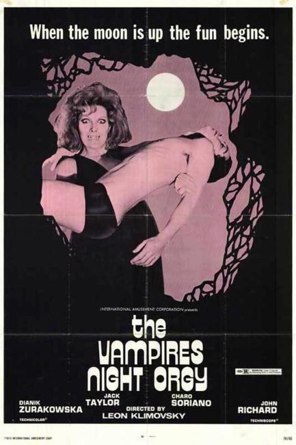 The Vampire's Night Orgy (1974) poster