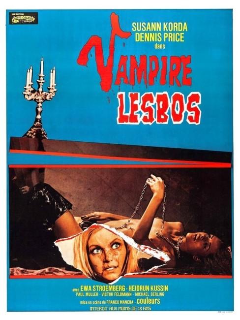 Vampyros Lesbos (1970) poster