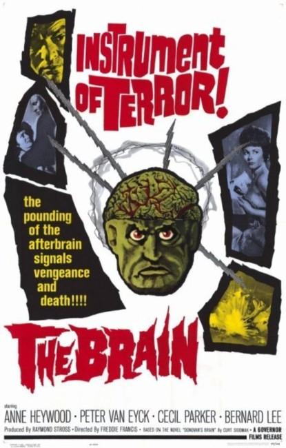 Vengeance/The Brain (1962) poster