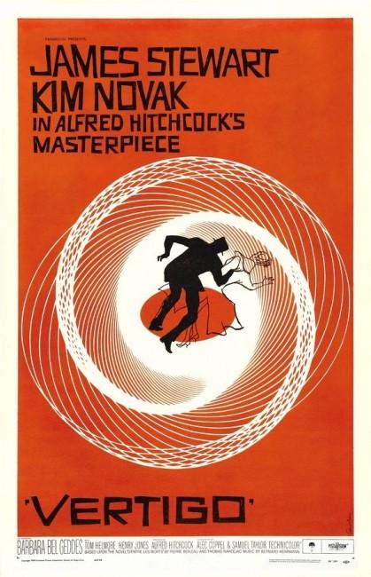 Vertigo (1958) poster